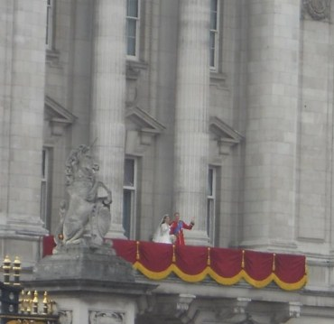 Pic of Will and Kate I took on thier wedding day!
