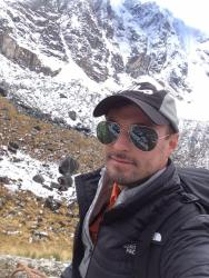 Hiking the Andes